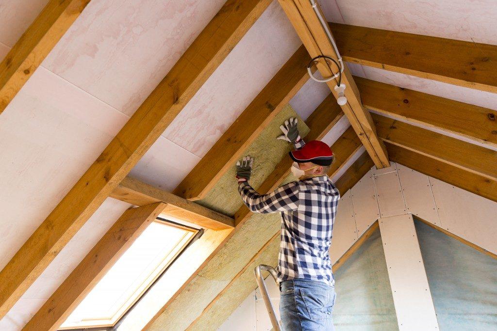 home insulation process