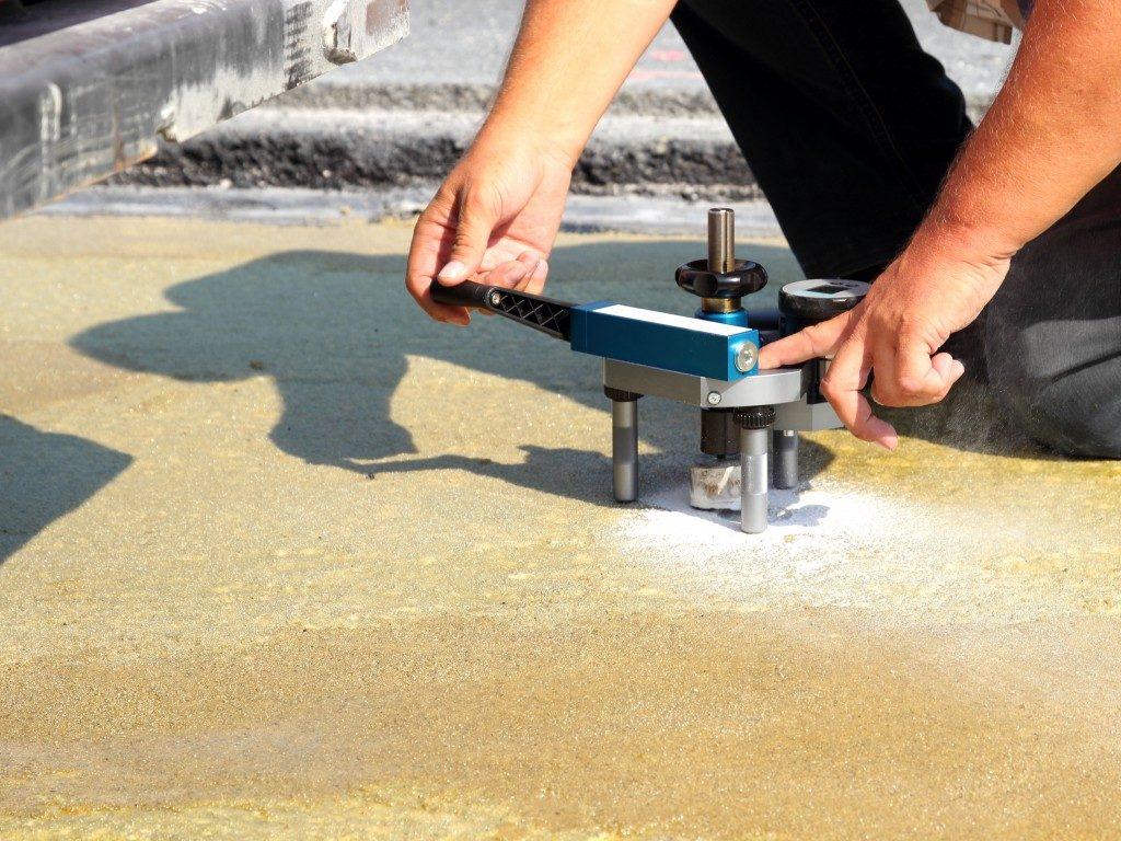 waterproofing procedure