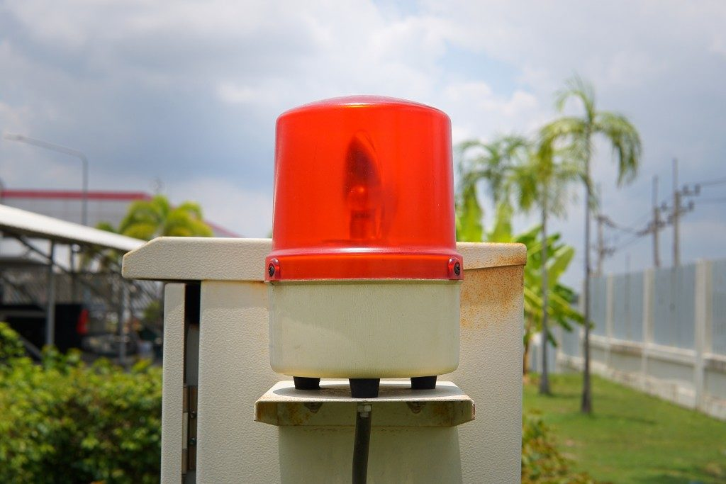 Neighborhood security alarm