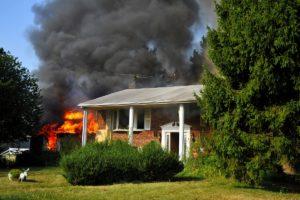 fire hazard at home