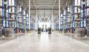 Clean warehouse