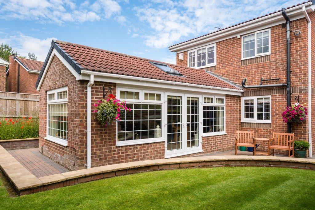 bricked home extension