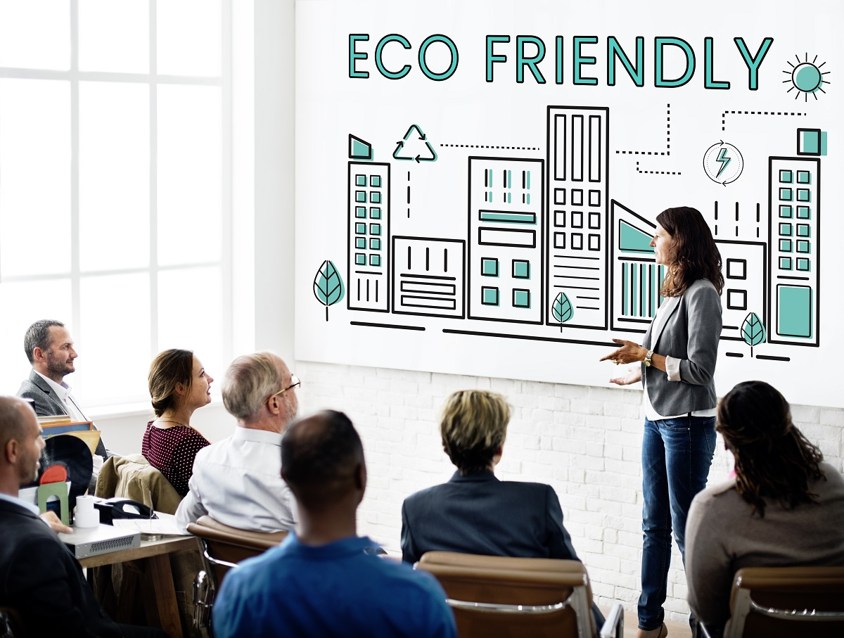 discussion about being eco-friendly