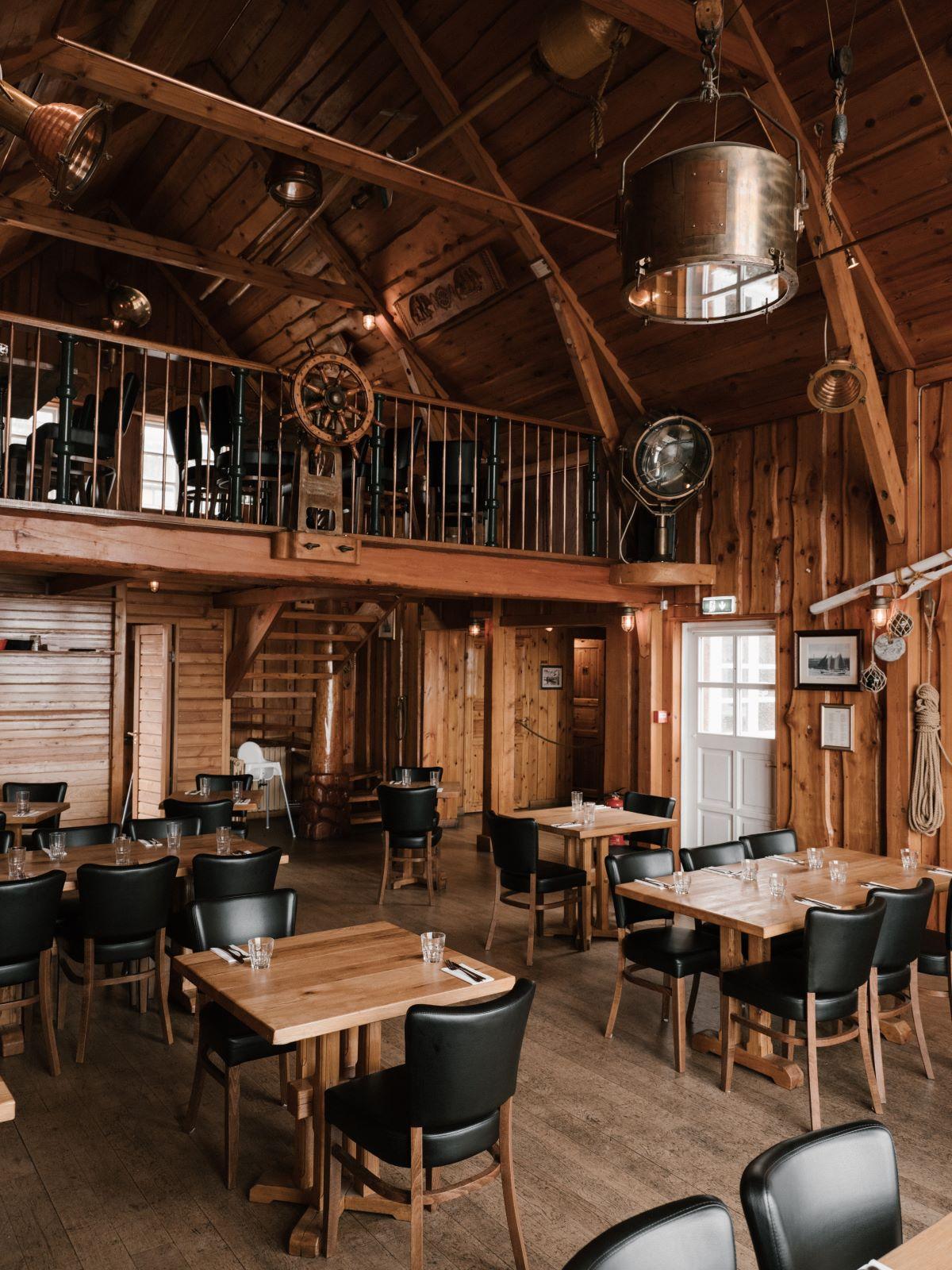 indoor wooden interior