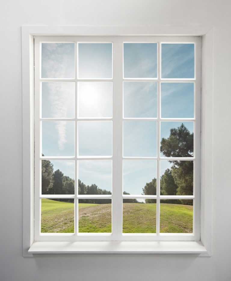 window with an outdoor view